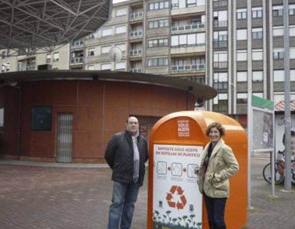 Santoña Cuenta Con Un Contenedor Para La Recogida De Aceite Vegetal Usado De Fritura